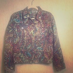Chico's Jacket, size 1 (equivalent to approx 8)